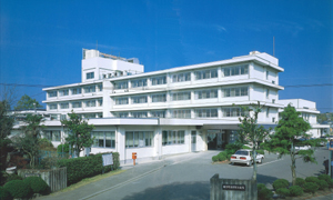 H元年の緒方町国保総合病院